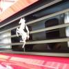 フェラーリのフロントガラスリペア