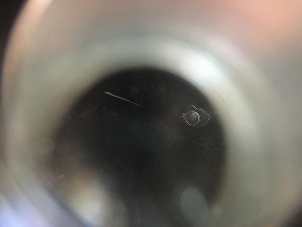 レヴォーグのフロントガラスリペア
